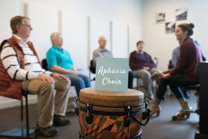 Aphasia Choir Photo