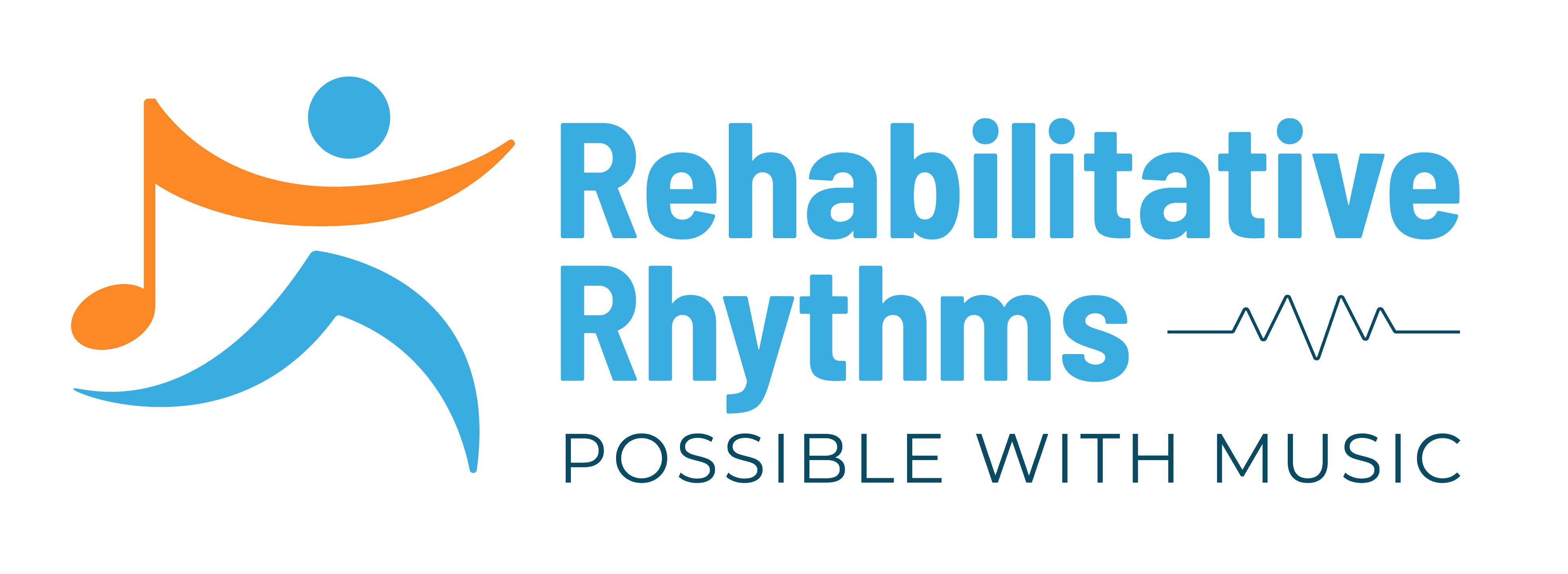 Rehabilitative Rhythms Logo_Logo with Tagline-short-01